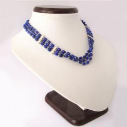 "Necklace ""Lapis lazuli Teardrops"""