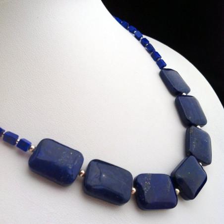 """Necklace """"Seventh Heaven"""" Lapis lazuli"""