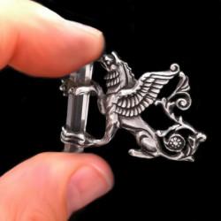 "Pendant ""Celtic Interlaced"" with Zircon"