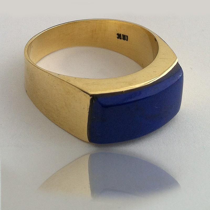 """Ring """"Blue Sky"""" 18K Gold"""
