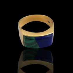 MODERN GOLD-Malachite &...