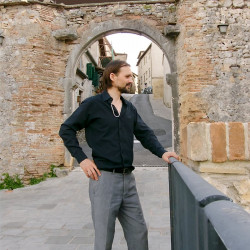 """Byzantine Antique"" Chaîne Borobudur Homme"