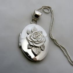 """""""Rose de Juliette""""médaillon portafoto"""
