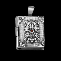 "Locket Pendant ""Sacred Book"" Rectangular"