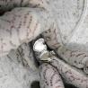 """""""Petite Amelia"""" medaglione portafoto argento con la pietra"""