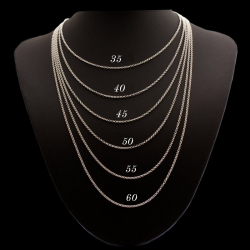 """""""Rolo"""" Chain All lengths available sterling silver"""
