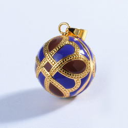 """Pendant Bola of pregnancy, The angel caller, Bell of Angels large """" Love Knot"""""""